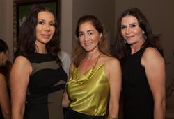 Andrea Baclea, handbag designer Laura Buccellati,Eilah Beavers