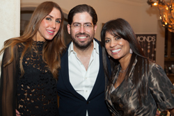 David Martin CEO Terra Group and wife Christy, Lucy Morillo CEO Miami Children's Hospital Foundation